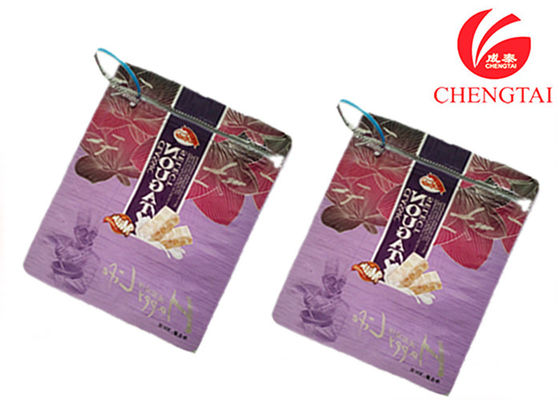 China Zipper Top Sealing & Handle Stand Up Resealable Pouches for Sugar Packaging supplier