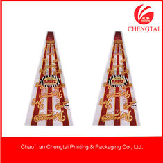 China Cone Shaped Bags , Custom Shaped  Pouches For Popcorn / Chips / Candy supplier