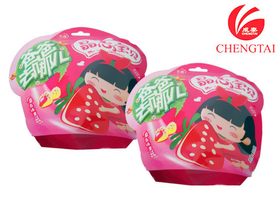 China Nontoxic Snack Packaging Stand Up Shaped Pouches Food Grade supplier