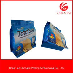 China Big size bean milk packaging bags , Custom Coffee Packaging Pouches supplier