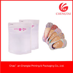 China Transparent Socks use Ziplock Clothing Packaging Bags Environment supplier