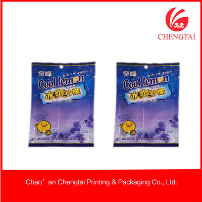 China Clear plastic food packaging sealable bag for candy / Milk Powder Storge supplier