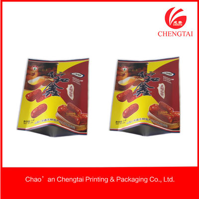China Standup Nontoxic Metallized Plastic Sealed Packaging Bag For Dry Fruit supplier