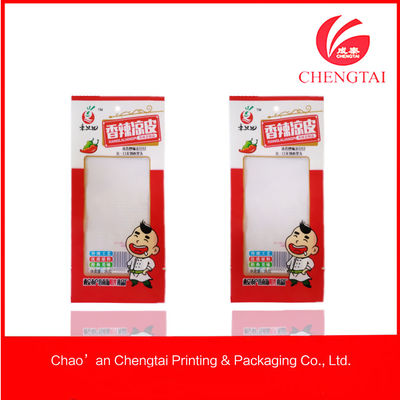 China Eco-Friendly Noodles Packaging Vaccum Plastic Pouch , Retortable Pouches supplier