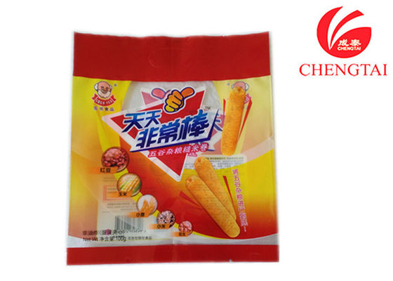 China Biodegradable Back Sealing Food Packaging Pouches Low Temperature Resistance supplier