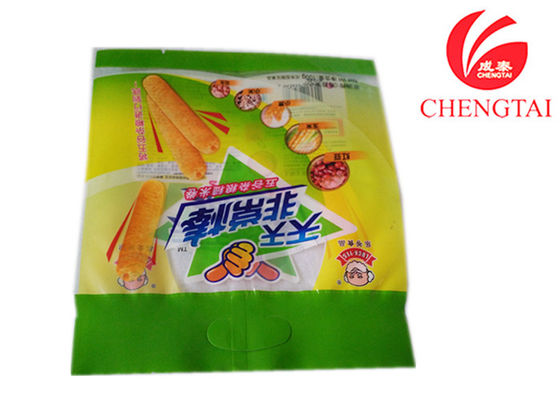 China Custom Printed Food Packaging Pouches / Snack Stick Plastic  Bags supplier