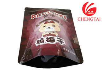 China Sealable Plastic Bird Pet Food Packaging , Zipper Top Stand Up Pouch supplier