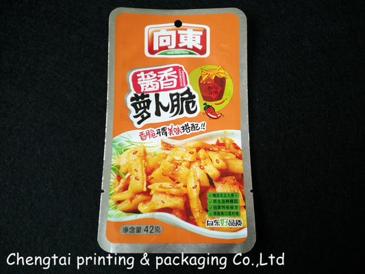 China Extremely High Barrier 42 G Retort Pouches With Aluminum Material supplier