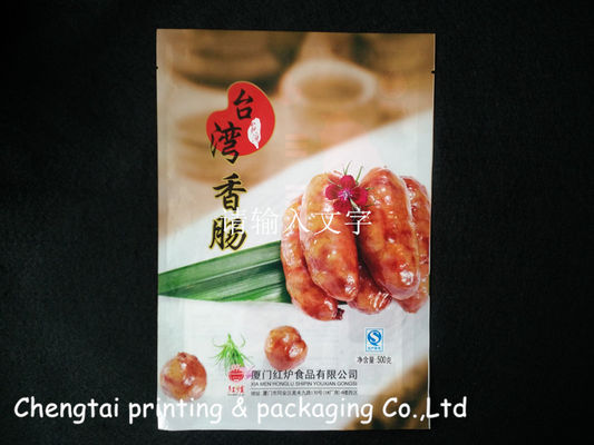China Custom Retortable Pouches Retort Bag Used In Hot Dog Food Packaging supplier