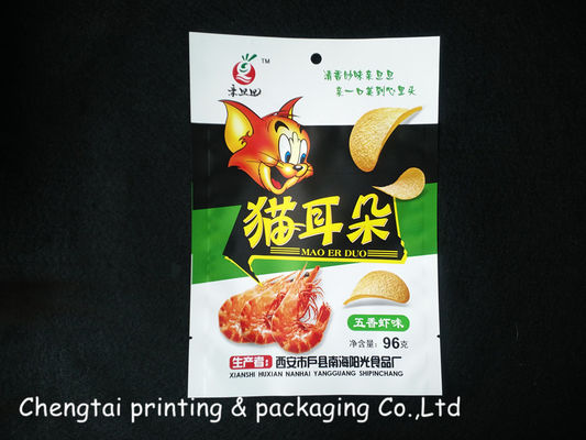 China Aluminum Foil Resealable Bags Dry Stand Up Bags Heat Sealable supplier