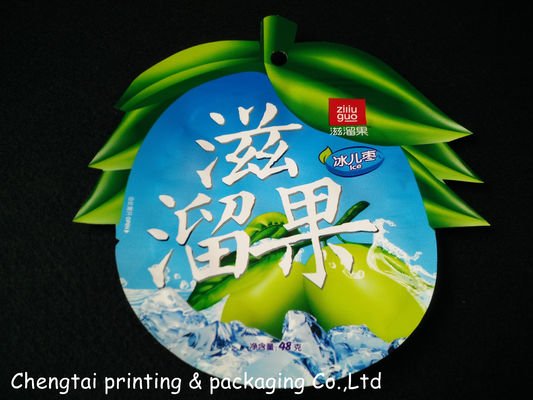 China Special Shaped Pouches For Chocolate / Sugar Powder Packaging supplier
