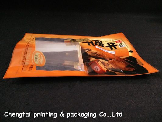 China Water Proof plastic three side seal pouch translucent materials supplier