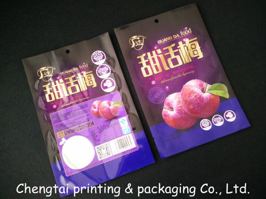 China Semi Vmpet Laminated Dried Fruit Bags , Recyclable Dry Fruit Bag Non - Leakage supplier