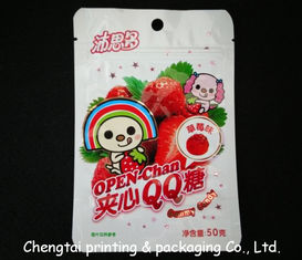 China BOPP Plastic Resealable Snack Packaging Pouches for Fruit Snack supplier