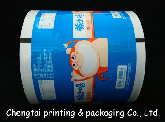 China Eco - Friendly Metallize Rollstock Film / Plastic Packaging Film With Vivid Image supplier