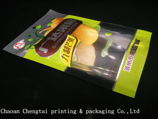 China Dried Fruit Plastic Packaging Bags / Banana Chips Laminated Pouches QS Approval supplier