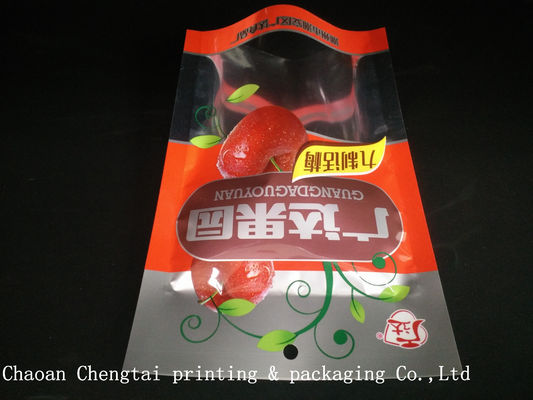 China Three Layers Aluminum Foil Laminated Dry Fruit Plastic Packaging Bags For Snack supplier