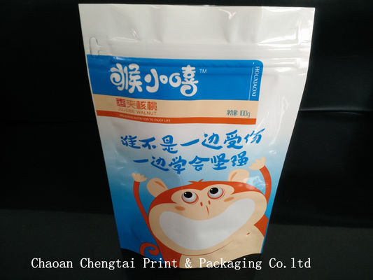 China Durable 100g Dry Fruit Bag Packing Of Dry Fruits , Easy To Reclose supplier