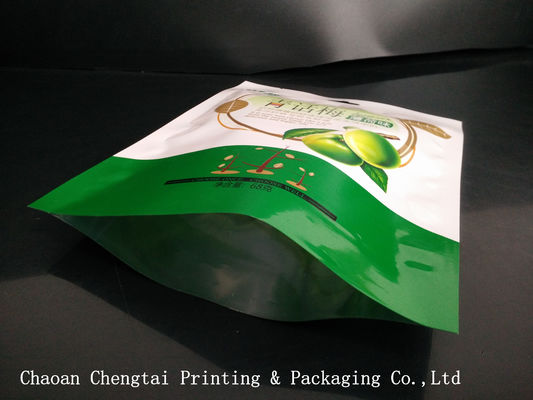 China Flexible Dried Fruit Bags Heat Sealable Plastic Packaging Bags 68g For Dry Fruit supplier