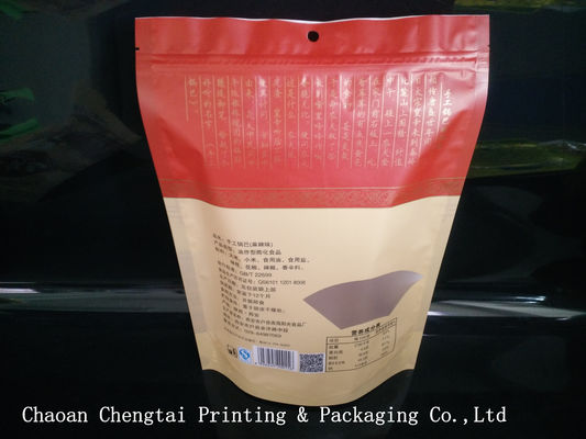 China 0 - 9 Colors Printing Snack Packaging Bags With Zipper / Transparent Window supplier