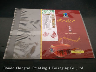 China Custom Printing Tea / Food Packaging Pouches 45g Small Plastic Tea Bags supplier