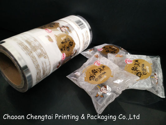 China Food Packaging Rollstock Plastic Packaging Film For Cake & Bread & Snack supplier