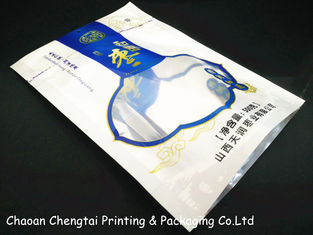 China Barrier type Reclosable Plastic Stand Up Zipper Pouch of BOPP /  SEMI VMPET / PE supplier