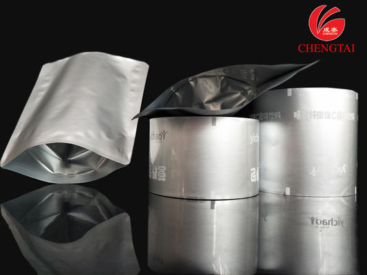 China Powder Aluminum Foil Film / Plastic Food Pouches with Different Size supplier