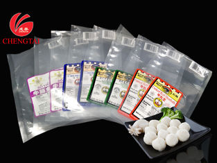 China NY / PE 8C Retort Pouch / Meatball Packaging Pouch for 9 oz. / 11oz. supplier