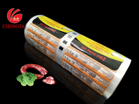 China Food Packaging Pouches / Films / Automatic Plastic Film for Sausage supplier