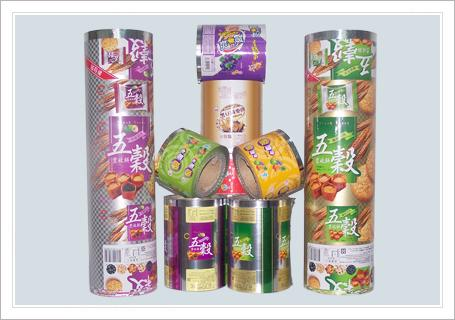 No Second Pollution Packaging Roll Stock Film For Puff Food / Cake / Candy Production