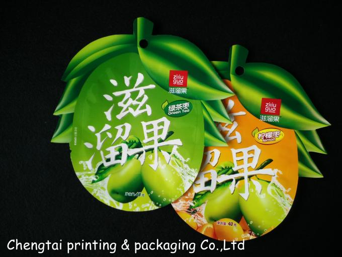 Special Shaped Pouches For Chocolate / Sugar Powder Packaging