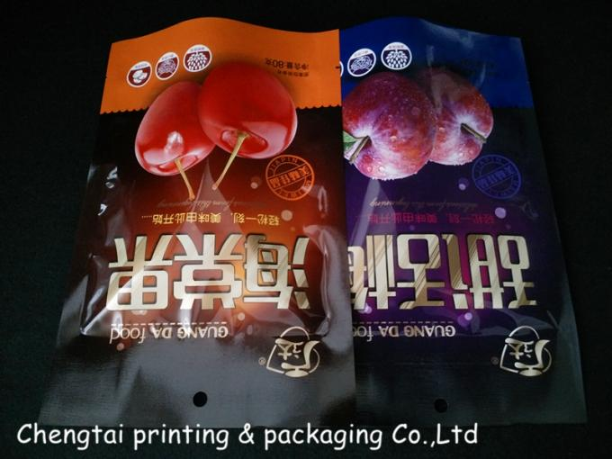 Semi Vmpet Laminated Dried Fruit Bags , Recyclable Dry Fruit Bag Non - Leakage