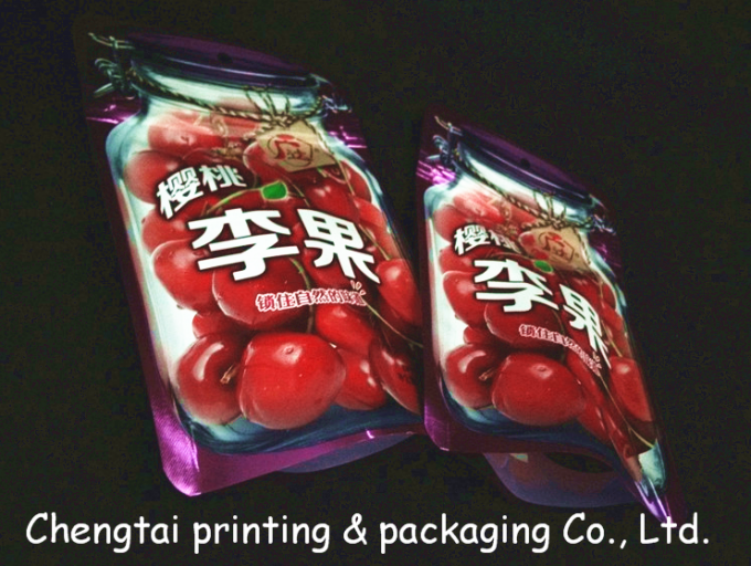 Customized Food Packaging Snack Packaging Bags With Clear Window Moisture Proof