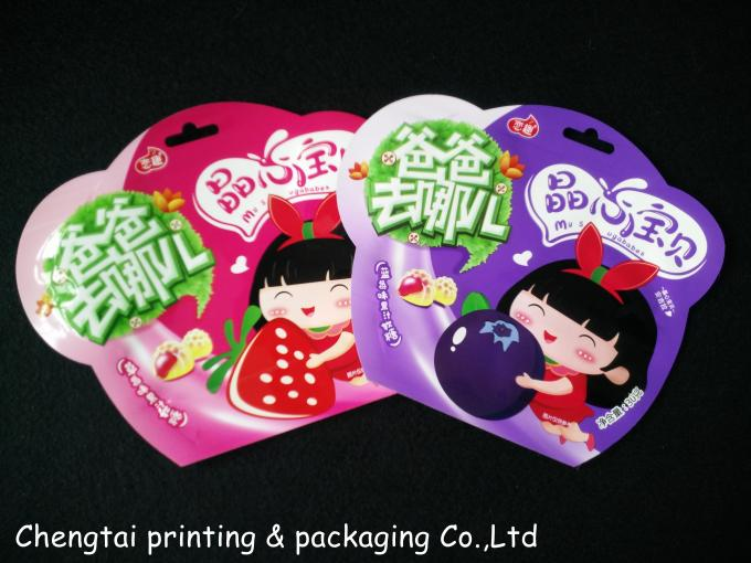 Special Alien Packaging Bags Food Grade Plastic Bags For Beverage / Snack