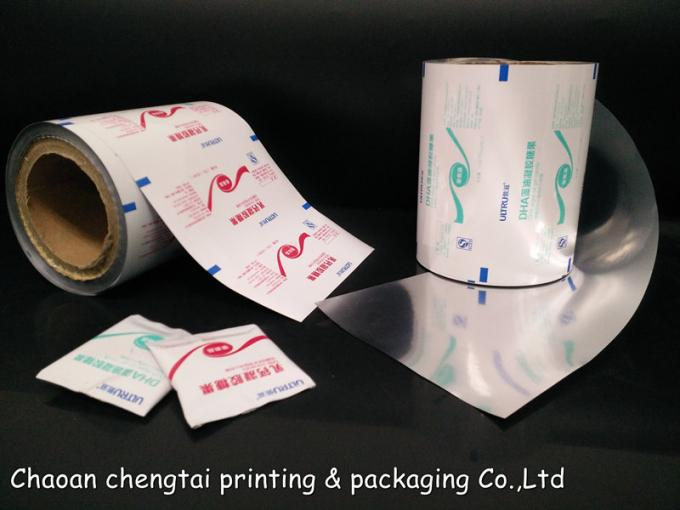Automatic Packing OEM Rollstock Films For Pills / Granule Medicine Packaging
