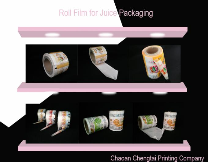 Laminated Automatic Packaging Rollstock Film With High Barrier For Beverage Factories