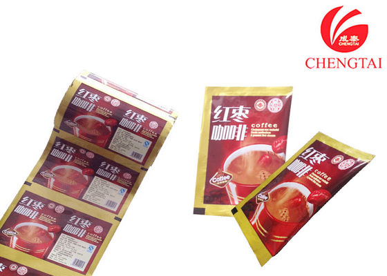 China Food Grade Gravure printing coffee packaging bags with oxygen resistance factory