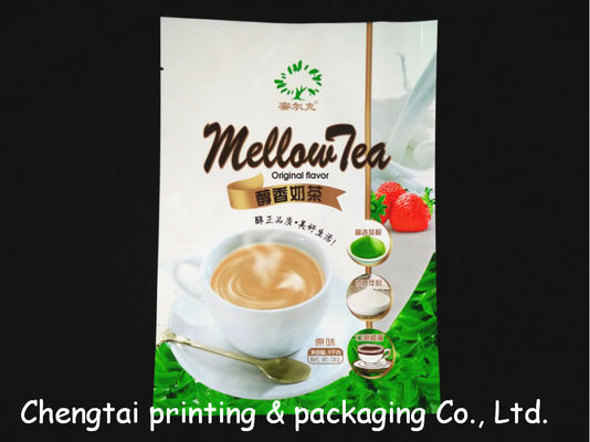 China Aluminum Coffee Packaging Bags Food Grade Stand Up Pouch With Tear Notch factory