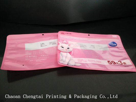 China Standard  Color Clothing Packaging Bags For Glove / Cap / T - Shirts distributor