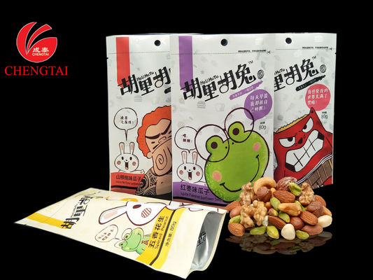 China UV Printing Stand Up Packaging Pouches for Nuts,Peanuts,Sunflower Seed distributor